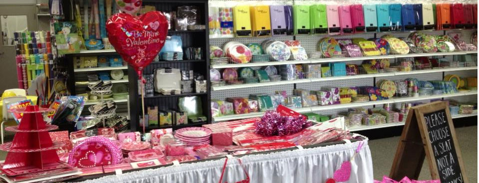 Party supplies in Lancaster County PA, Lebanon PA, Reading PA, Berks County Pennsylvania, Ephrata, Denver PA