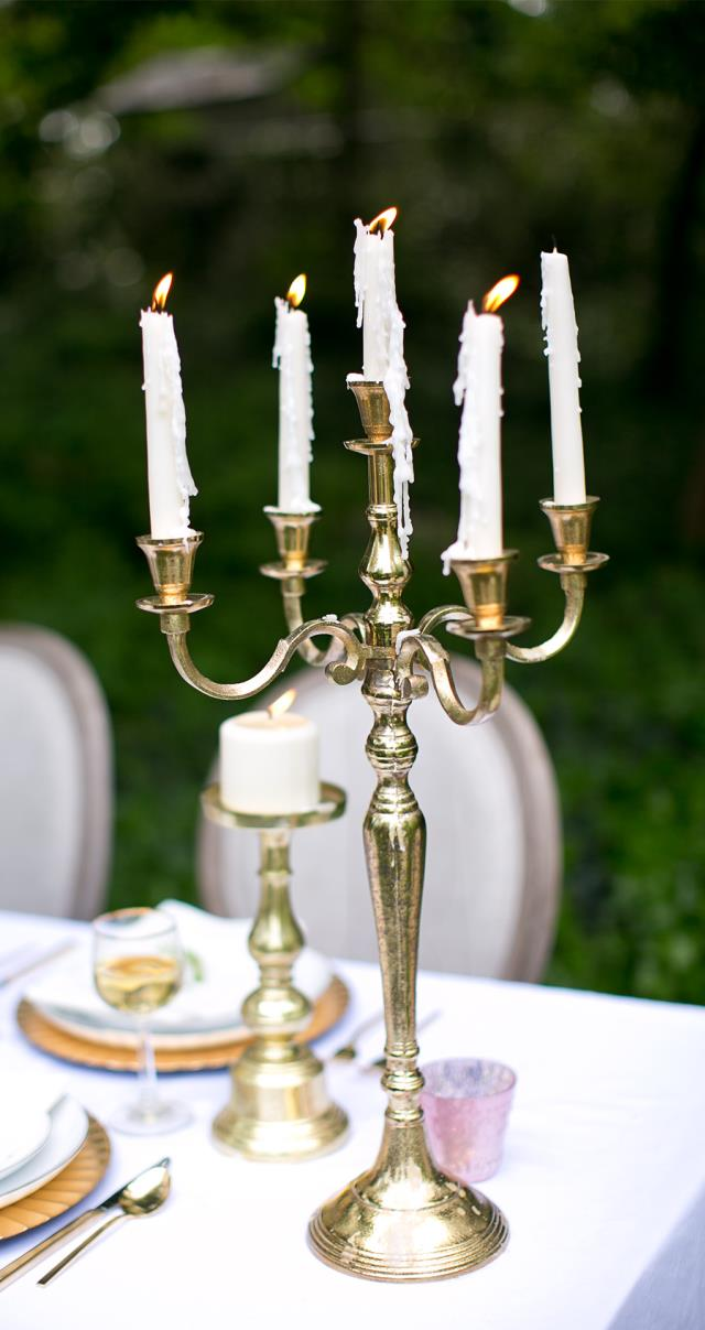 Where to find CANDELABRA GOLD 25  1-5 LIGHT in Stevens