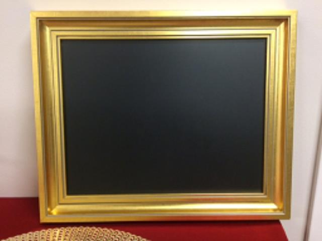 Where to find CHALKBOARD GOLD FRAME 11 X14 in Stevens