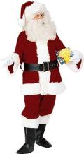 Rental store for COSTUME SANTA SUIT LG DELUXE in Stevens PA