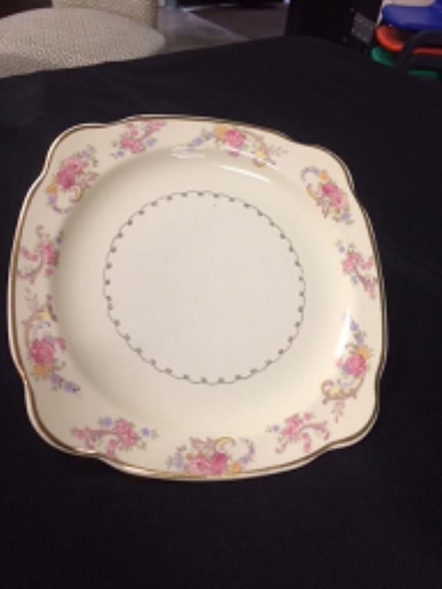 Where to find CHINA VINTAGE PLATE LUN SQ in Stevens