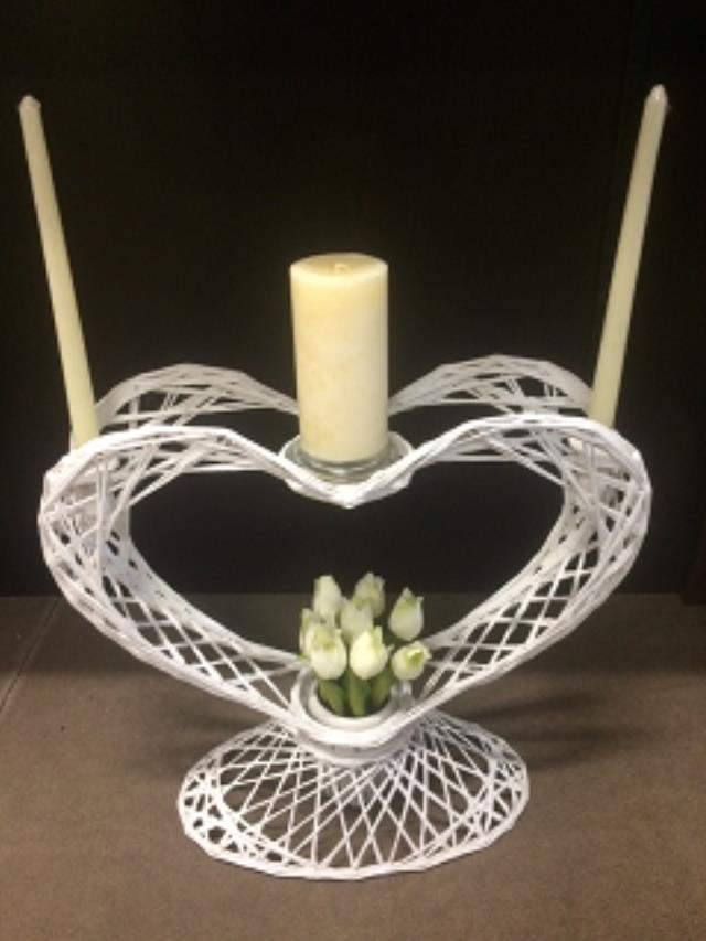 Where to find CANDELABRA WHITE WICKER UNITY in Stevens