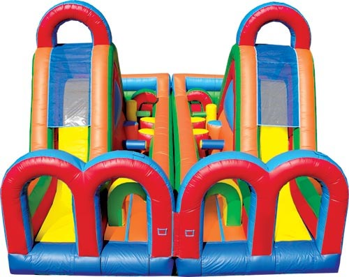Where to find BOUNCE RUSH OBSTACLE COURSE in Stevens
