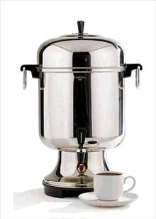 Where to find COFFEE MAKER 55 CUP HOT WATER ONLY in Stevens