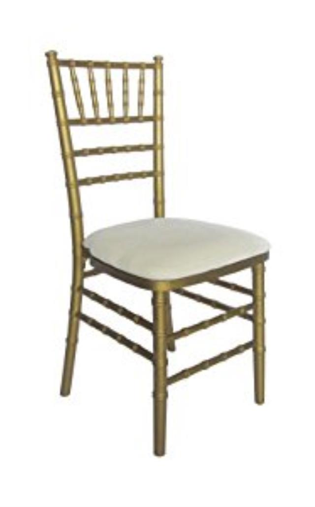 Where to find CHAIR GOLD CHIAVARI in Stevens
