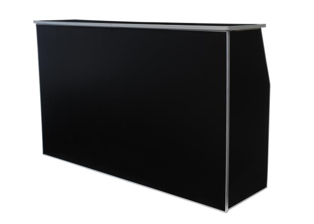 Where to find TABLE BAR PORTABLE 6  BLACK in Stevens