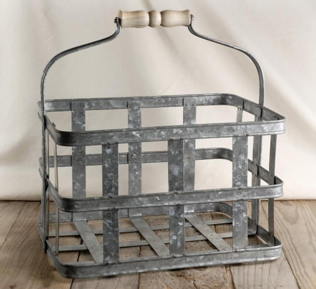 Where to find BASKET METAL GALVANIZED 13.5 X10 in Stevens