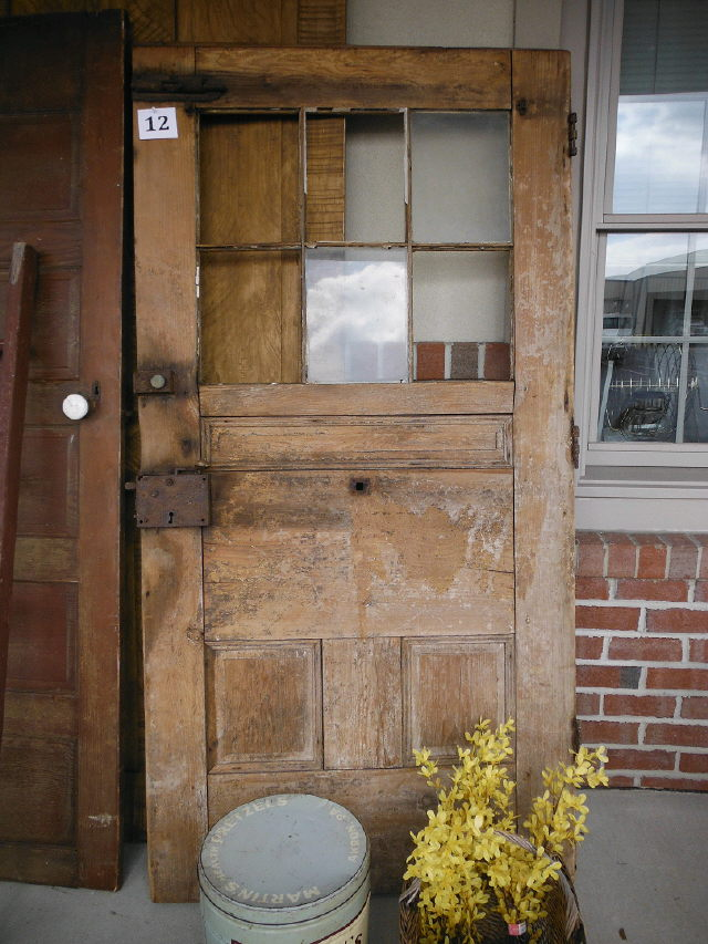 Where to find VINTAGE DOOR  12 GLASS PANES in Stevens