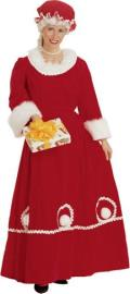 Rental store for COSTUME SANTA MRS DRESS RED LG in Stevens PA