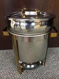 Rental store for CHAFER SOUP 11 QT SILVER GOLD in Stevens PA