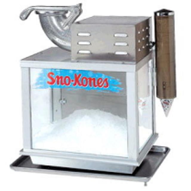 Where to find SNO-KONE MACHINE in Stevens