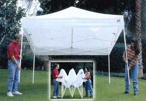 Where to find TENT 10X10 POP UP  FREESTANDING in Stevens