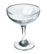 Where to find GLASSWARE CHAMPAGNE SAUCER 5OZ in Stevens