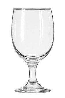 Where to find GLASSWARE WATER GOBLET 12OZ in Stevens