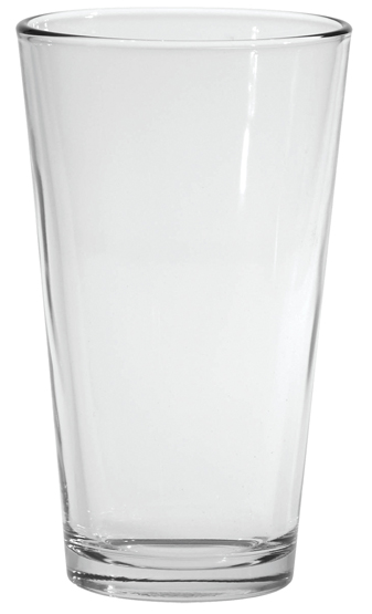Where to find GLASSWARE PINT GLASS 16OZ in Stevens