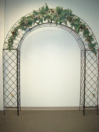 Where to find ARCH BLACK WROUGHT IRON in Stevens