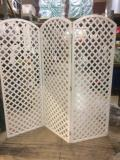 Rental store for LATTICE WHITE 3 PANEL 7  HIGH, RND in Stevens PA