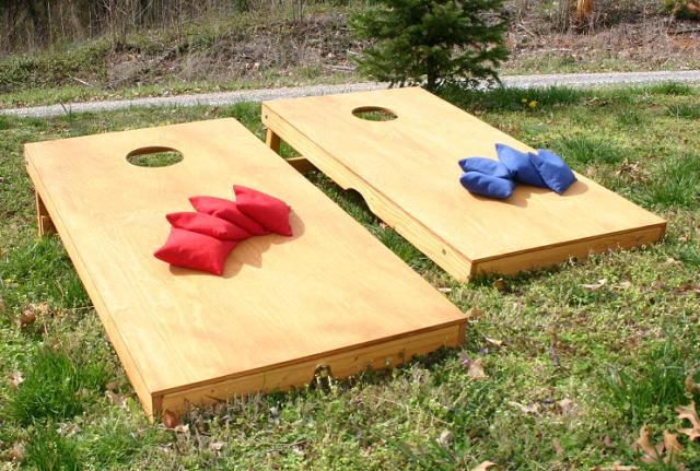Where to find GAME CORNHOLE in Stevens