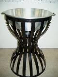 Rental store for BEVERAGE STAND W BOWL SILVER   BLACK in Stevens PA