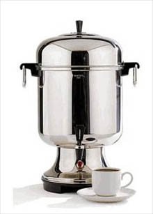 Where to find COFFEE MAKER 18-55 CUP SS in Stevens