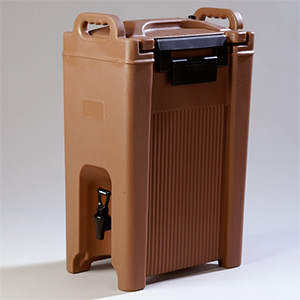 Where to find INSULATED HOT BEV TAN 4 GAL in Stevens