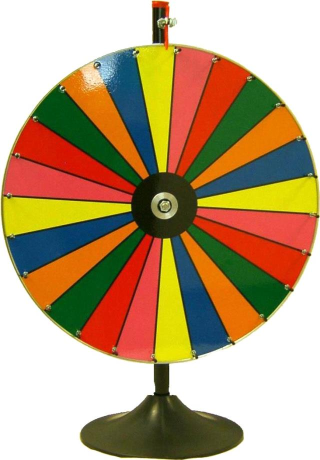 Where to find CASINO COLOR WHEEL FLOOR STAND in Stevens