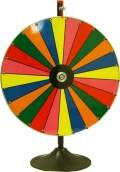 Rental store for CASINO COLOR WHEEL FLOOR STAND in Stevens PA