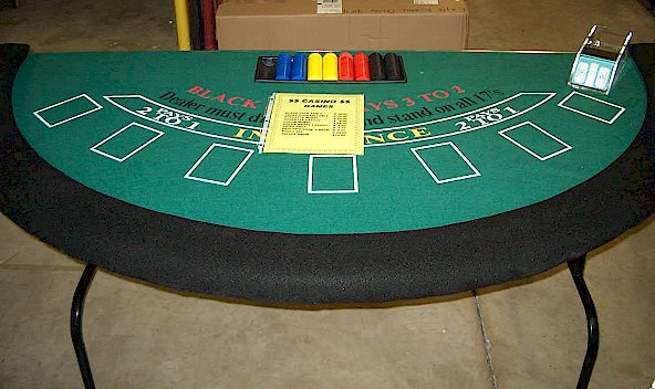 Where to find CASINO BLACK JACK TABLE in Stevens