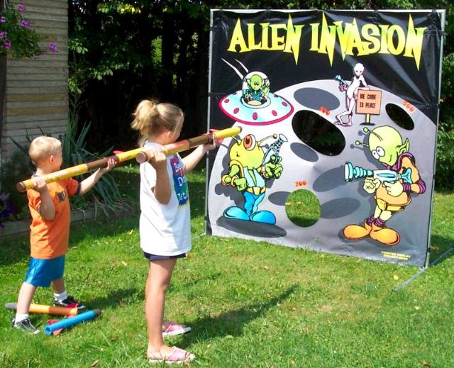 Where to find GAME ALIEN INVASION in Stevens
