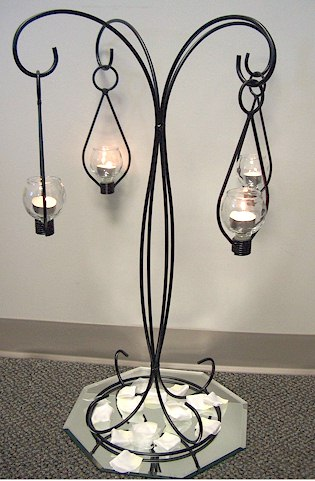 Where to find CANDLE HOLDER BLACK TREE in Stevens