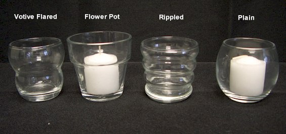 Where to find CANDLE HOLDER VOTIVE RIPPLE in Stevens