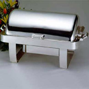 Where to find CHAFER DISH ROLL TOP 8QT in Stevens