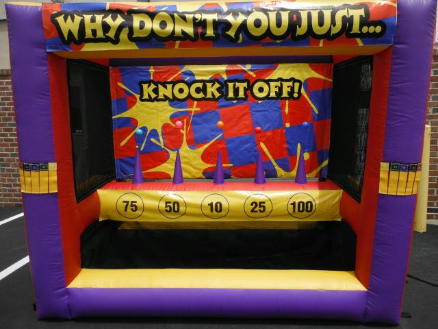 Where to find GAME INFLATABLE KNOCK IT OFF in Stevens
