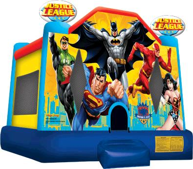 Where to find BOUNCE CASTLE SUPER HEROS in Stevens