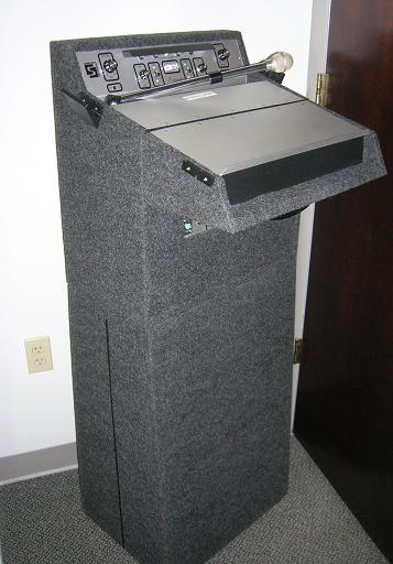 Where to find PA LECTERN   STAND W SOUND in Stevens