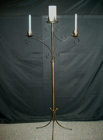 Where to find CANDELABRA ANTIQUE 3 LT UNITY in Stevens