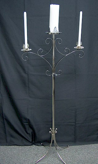 Where to find CANDELABRA SILVER 3 LT UNITY in Stevens