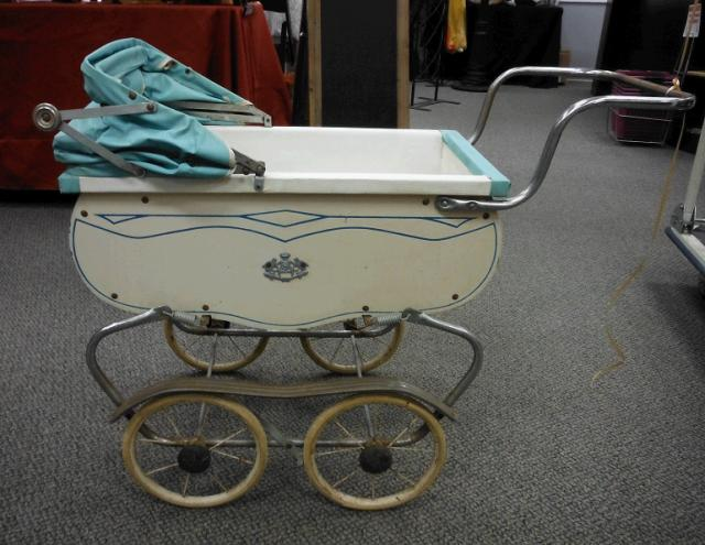 Where to find VINTAGE STROLLER  decoration only in Stevens
