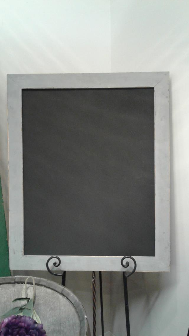 Where to find CHALKBOARD GRAY FRAME 26 X32 in Stevens